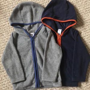 Fleece sweater set